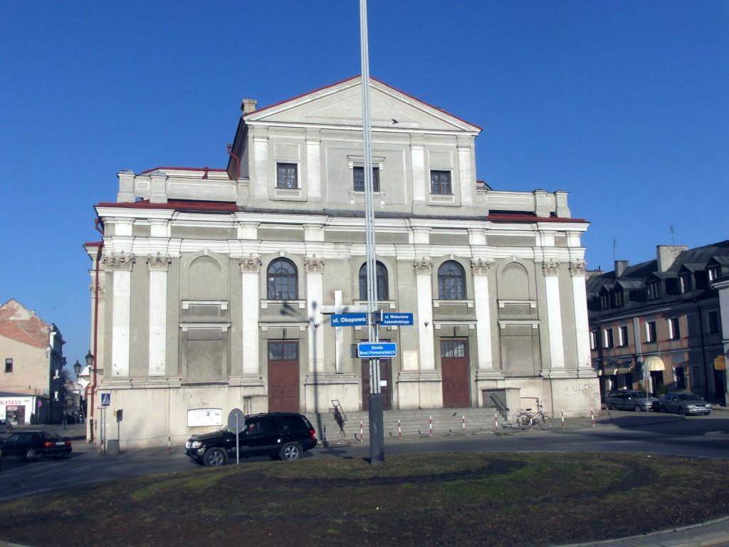 Kościół Francziszkanów o świcie