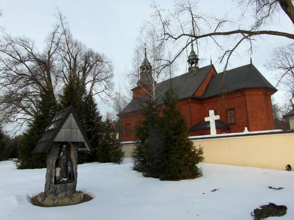kościoł z oddali gorecko