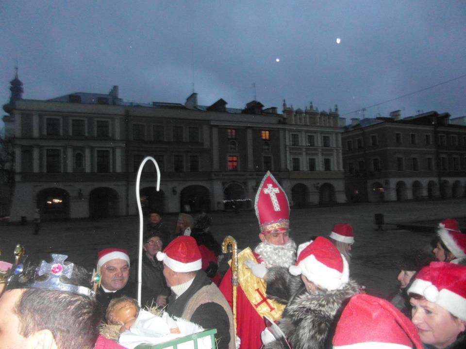 św Mikołaj Biskup Zamość