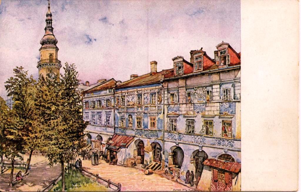 kopia orazu trzebi�ski 1914 pocztowka wydana 1914 14 stycznia
