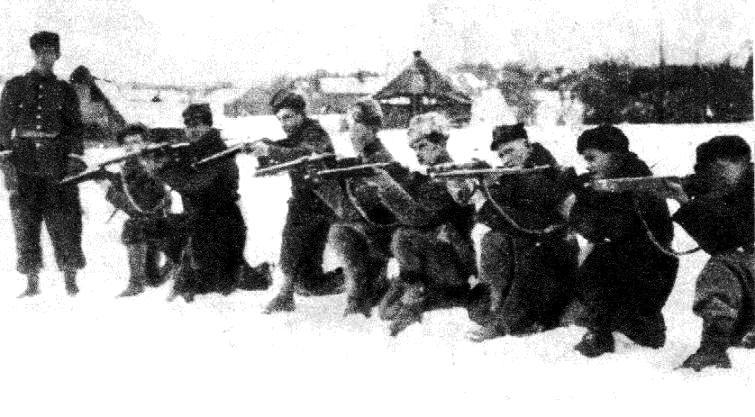 szkolenie przed Bitwą