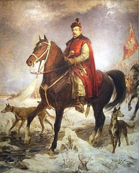 Jan_Zamoyski_Hetman na koniu