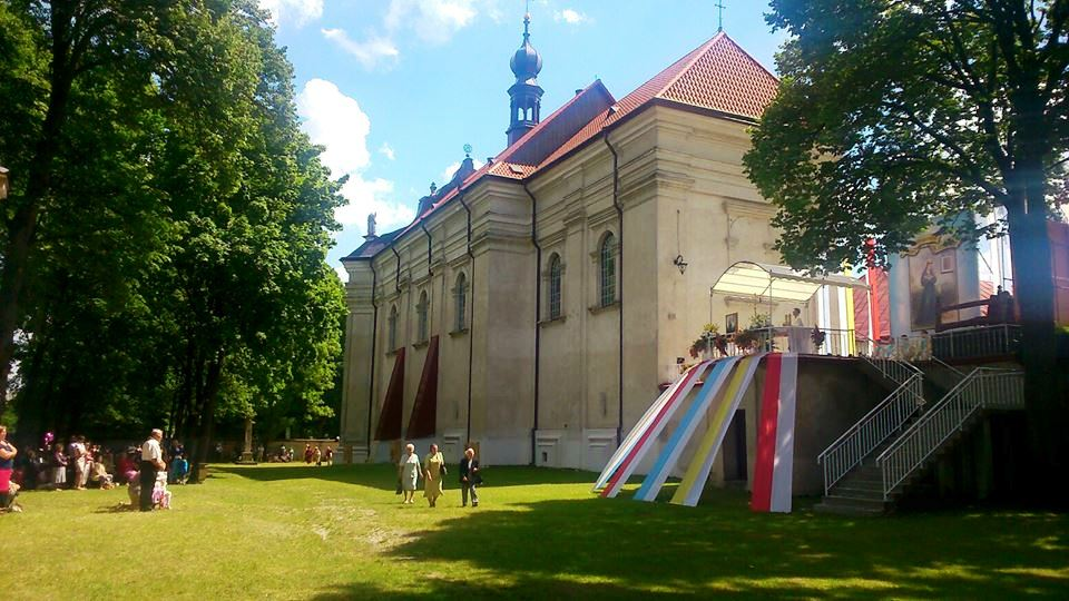 kościół krasnobrod
