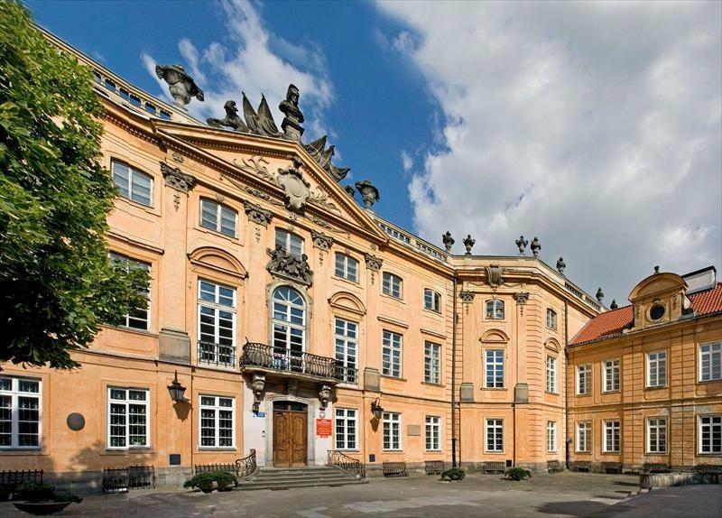 pałąc Sapiehów Warszawa
