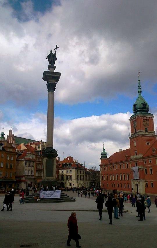 kolumna i zamek